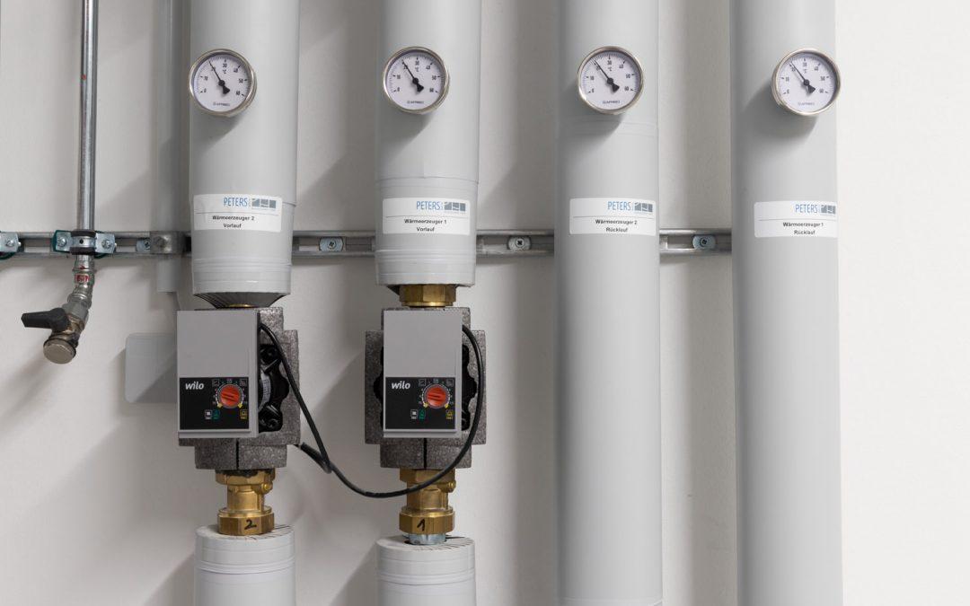 Neues Verwaltungsgebäudemit moderner LuftwasserwärmepumpeProjekt 170035